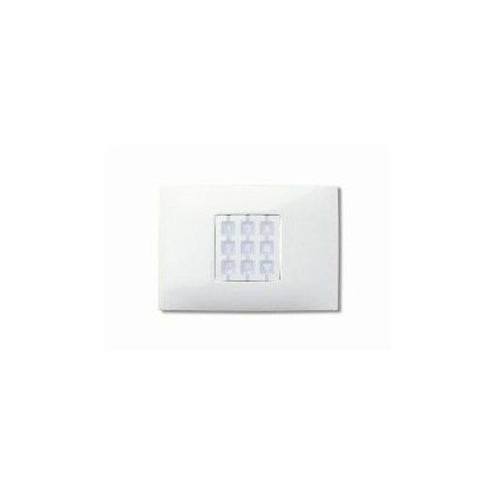 Plaque rectangulaire blanche OPLA WRW NICE